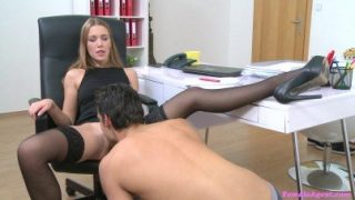 Female Agent / Shy boy at the Alexis's casting – Alexis Crystal